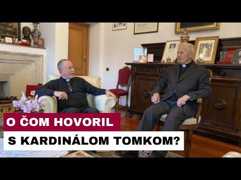 Arcibiskup Cyril Vasiľ SJ navštívil v Ríme kardinála Jozefa Tomka