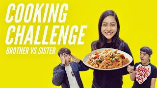 Watch COOKING CHALLENGE WITH BROTHER & SISTER
