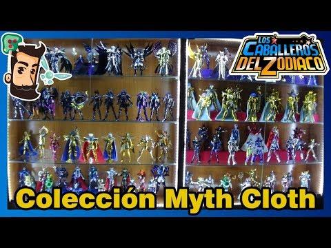 Colección SAINT SEIYA Myth Cloth. EL ORGULLO DE MIS COLECCIONES