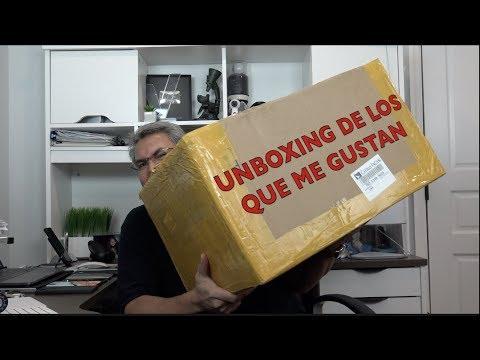 Unboxing de los que me GUSTA