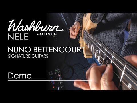 Washburn Nele | Nuno Bettencourt Signature Guitars | First Play Demo