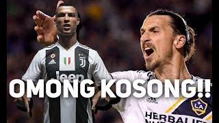 Zlatan Ibrahimovic Sebut Cristiano Ronaldo Omong Kosong