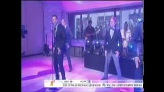 98 Degrees *Microphone & Because of You* Today Show 4/4/13