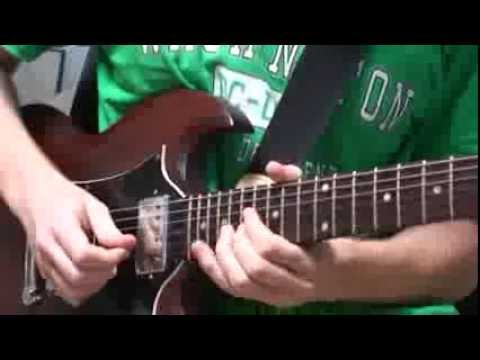 Dream Theater - The Enemy Inside guitar solo cover