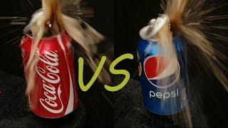 EXPERIMENT Coca Cola vs Pepsi vs BIG Gas TORCH
