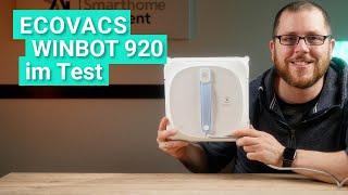 Ecovacs Winbot 920 im Test - Was kann der neue Fensterputzroboter mit App-Steuerung?