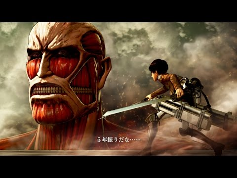 Attack on Titan: Wings of Freedom Tutorial Part One - Basic Controls & Gameplay Variety!
