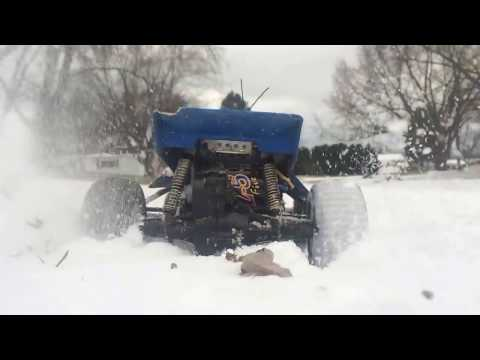 1984 Tamiya Grasshopper In The Snow And Street