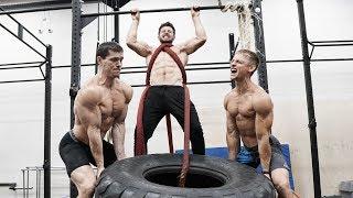 Подтягивания с весом +100 кг / Заруба монстров воркаута Фещук, Трухоновец, Шреддер