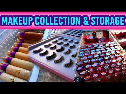 My Makeup Collection, Storage & Organization | Glam&Gore