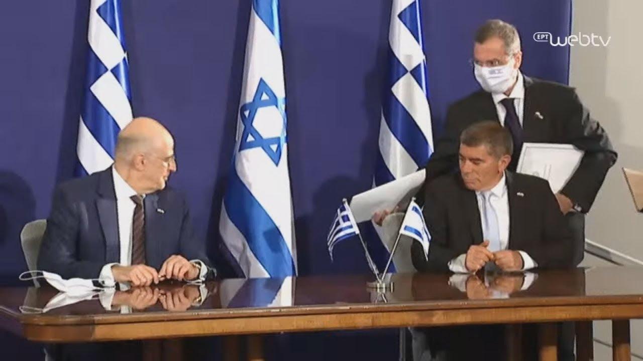 Υπογραφή συμφωνίας  Ν. Δένδια – Γ. Ασκενάζι