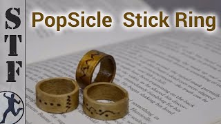 How to make a Popsicle Stick Wooden Ring