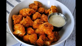Appetizer Recipe: Buffalo Cauliflower Bites by Everyday Gourmet with Blakely