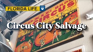 BEST Antique Shopping At Circus City Architectural Salvage In Sarasota   ChadGallivanter