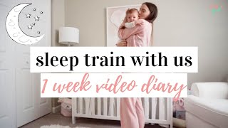 SLEEP TRAIN WITH US 😴 | Co-Sleeping To Sleeping Through The Night | Sleep Training Tips