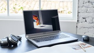 YouTube Video M-pmfZiraOM for Product MSI Creator 17 A10S Laptop (10th-gen Intel) 2020 by Company MSI (Micro-Star International) in Industry Computers