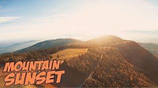 ☀ Что можно снять с FPV коптера в горах? ЗАКАТ! [Mountain Sunset FPV]
