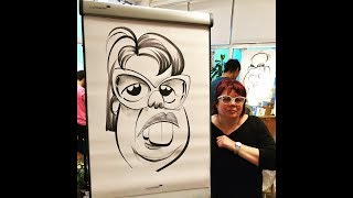 Caricature Roast At Caricon!