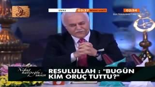 nihat hatipoğlu  hz. ebu bekir  sahur  29 temmuz 2013