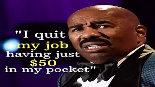 If you are scared to quit your job? - listen to Steve Harvey quit his job & be motivated.