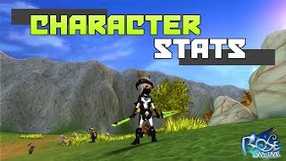 ROSE Online: Character Stats Tutorial