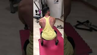 preview picture of video 'Back workout'