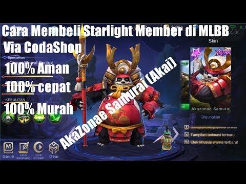 Murah! Cara Beli Starlight Member Mobile Legends Pakai Pulsa via Codashop