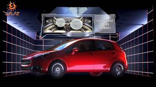 Fiat Punto EVO Launch 3D Projection Mapping
