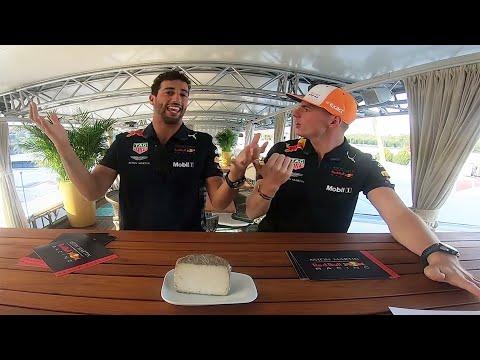 Formaggio o Villaggio? Max Verstappen and Daniel Ricciardo play a cheesy game!