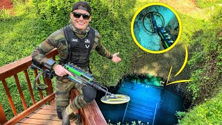 Scuba Diving The Devils Den Prehistoric Spring For Lost Valuables! (Metal Detecting Underwater)