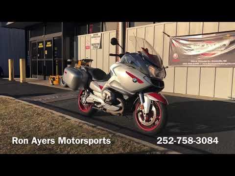 2013 BMW R 1200 RT in Greenville, North Carolina - Video 1