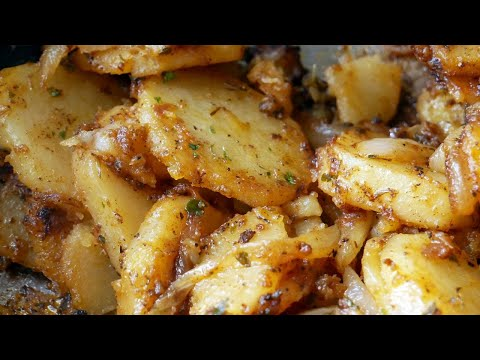 , title : 'We're Having Skillet Potatoes and Onions for Breakfast | How to make Skillet Potatoes