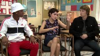"""Interview """"Me and Earl and the Dying Girl"""": Thomas Mann, Olivia Cooke, & RJ Cyler pour ScreenSlam"""