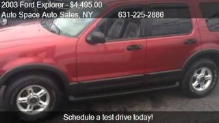 2003 Ford Explorer NBX for sale in COPIAGUE, NY 11726 at the