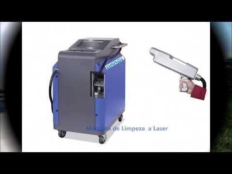 Máquina Portátil de Limpeza a Laser