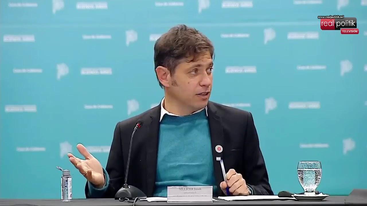 Kicillof, Massa y Máximo Kirchner firmaron convenios PREIMBA 2021