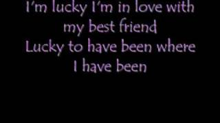 Jason Mraz - Lucky, Lyrics