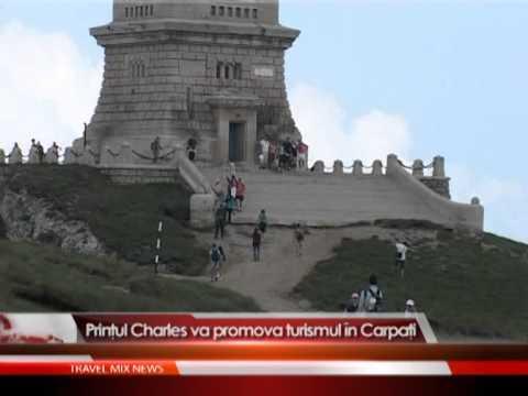 Prințul Charles va promova turismul în Carpați