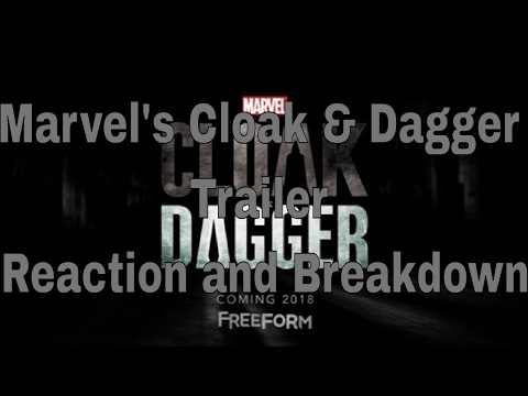 Marvel's Cloak & Dagger Trailer Reaction and Breakdown