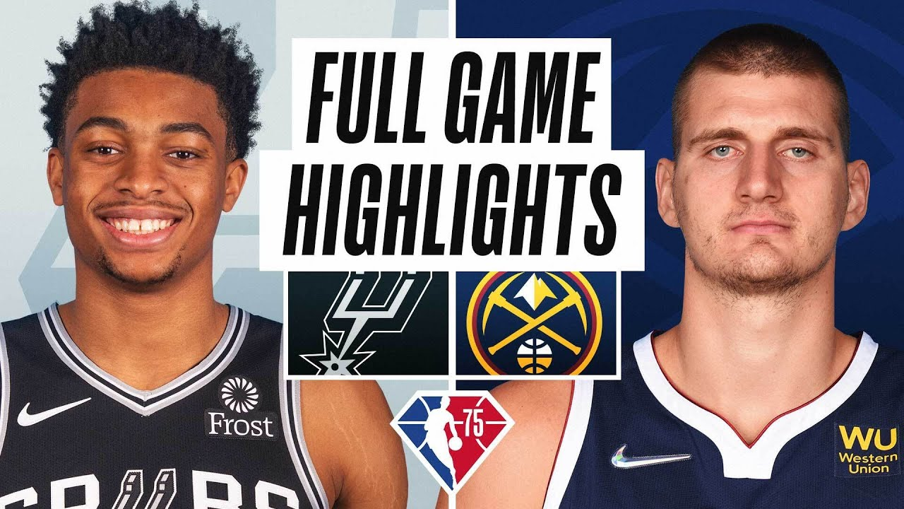 SPURS at NUGGETS | FULL GAME HIGHLIGHTS | October 22, 2021