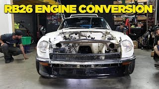 240Z - RB26 Engine Conversion [PART 1]