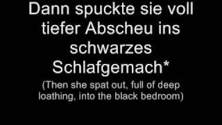 Oomph! - Das letzte Streichholz (Lyrics w/ English Translation)