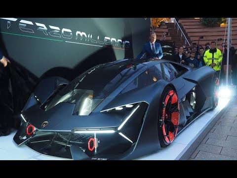 Amazing 2018 Lamborghini Terzo Millenio Concept Make Shocked