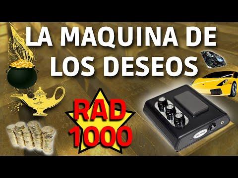 La Maquina De Los Deseos Generador De Orgon Con Radionica RAD 1000