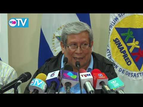 Declaran Alerta Amarilla para el Pacífico de Nicaragua y Alerta Verde para la Región Central