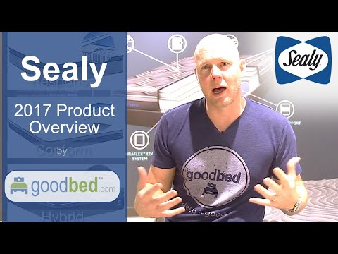 Sealy Mattress Options EXPLAINED by GoodBed (VIDEO)
