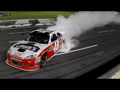 Jimmie Johnson's Encore Win