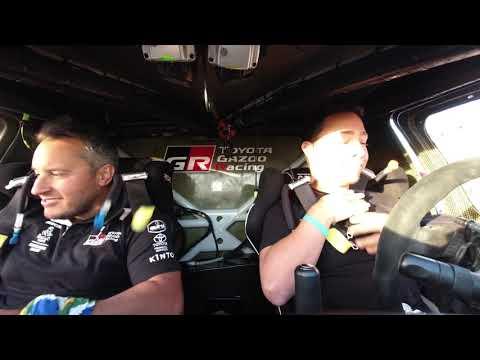 【ダカールラリー ToyotaGazooRacingチームのハイライト動画】ステージ9ハイライト