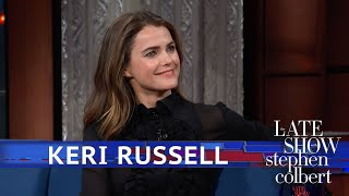 Stephen Wants 'Star Wars' Spoilers From Keri Russell thumbnail