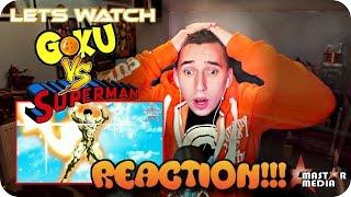 WHITE WARRIOR VS GOLDEN HERO!!| MaSTAR's Goku VS Superman REACTION!!